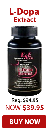 L-Dopa Extract Supplements